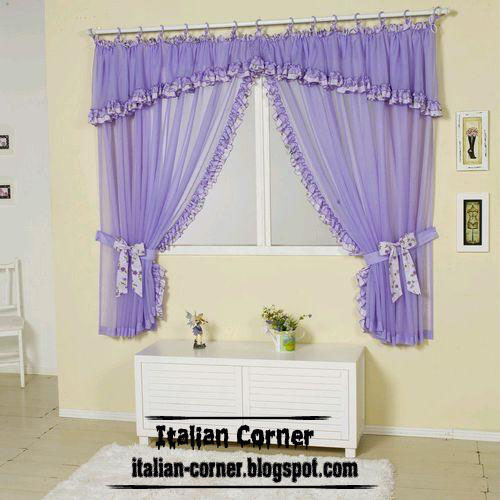 Italian Small Curtains Valance Designs Colors For Windows