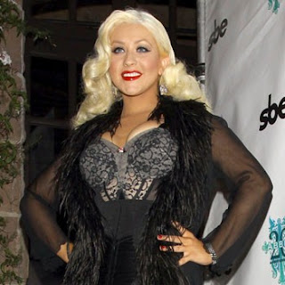 Christina Aguilera loves her fuller figure