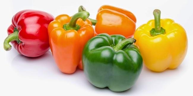 Kesehatan : Warna Warni Manfaat Paprika