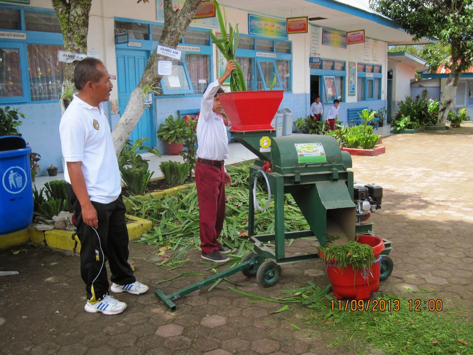 Pembuatan pupuk kompos