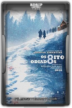 Os Oito Odiados Torrent DVDRip Dual Áudio 2016