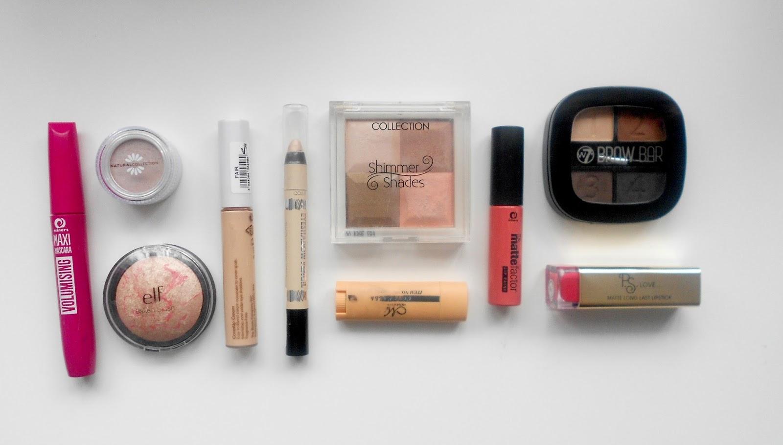 top 10 makeup under £5 review