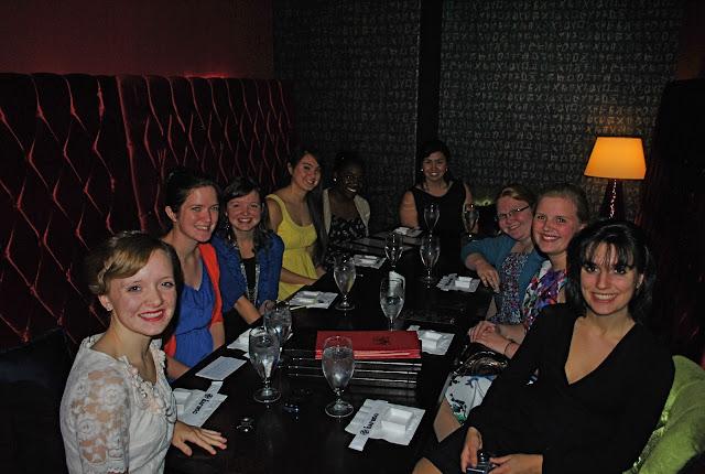 Flashback Summer:  The Biggest Part of Hospitality Is..., Evangel University Spence Girls