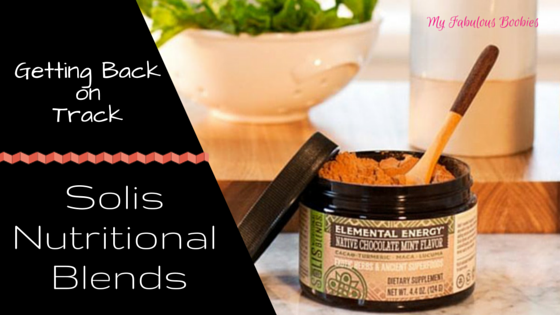 Getting back on track with Solis Nutritional Blends | My Fabulous Boobies