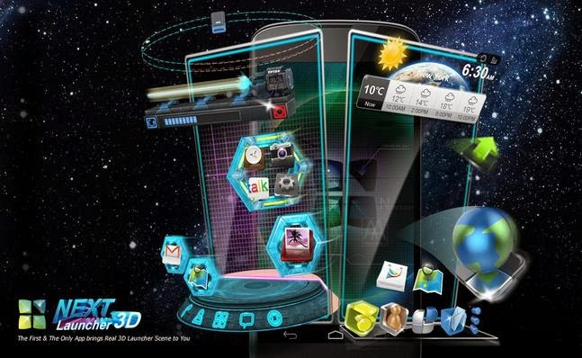 Next Launcher 3D Apk Download