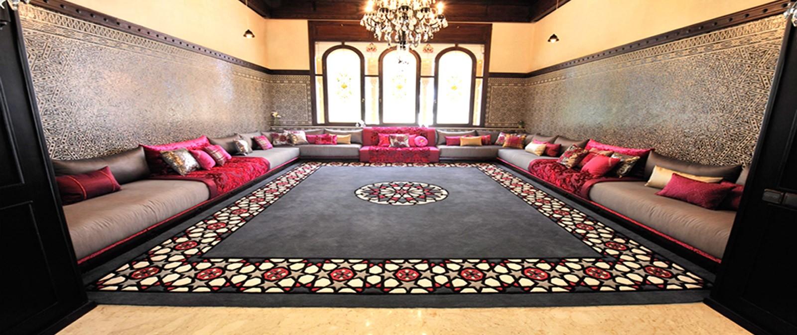 Conseils d co et relooking salon marocain design exceptionnel - Salon oriental au sol ...
