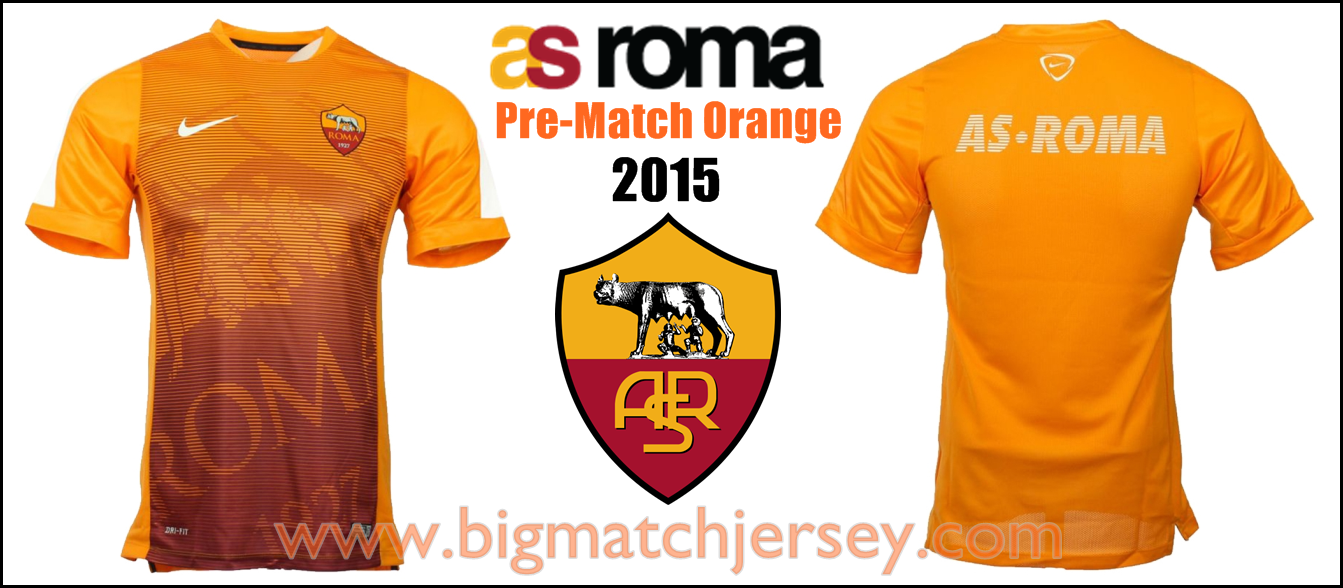 Pre Match Top As Roma Nike Maglia