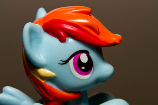 macro photo toys My Little pony