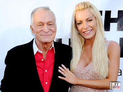 Hugh Hefner hạnh phúc bên vợ thứ ba