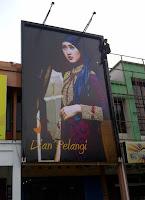 billboard dian pelangi