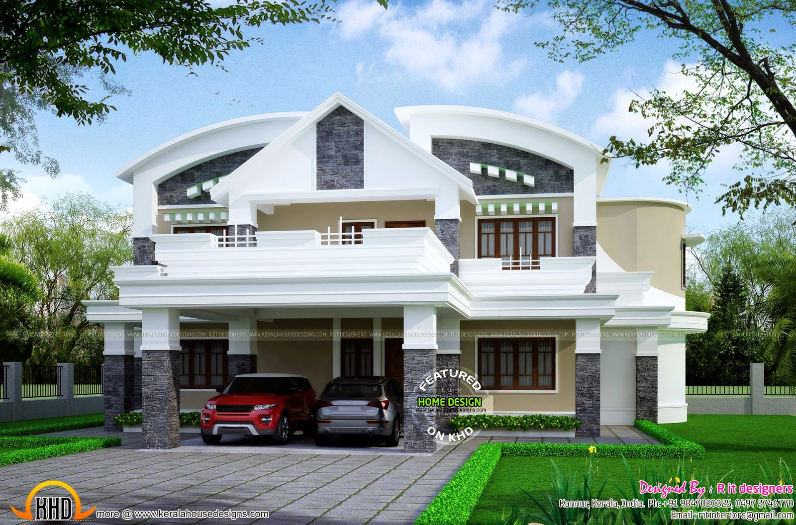 Kerala new house model for New model home design