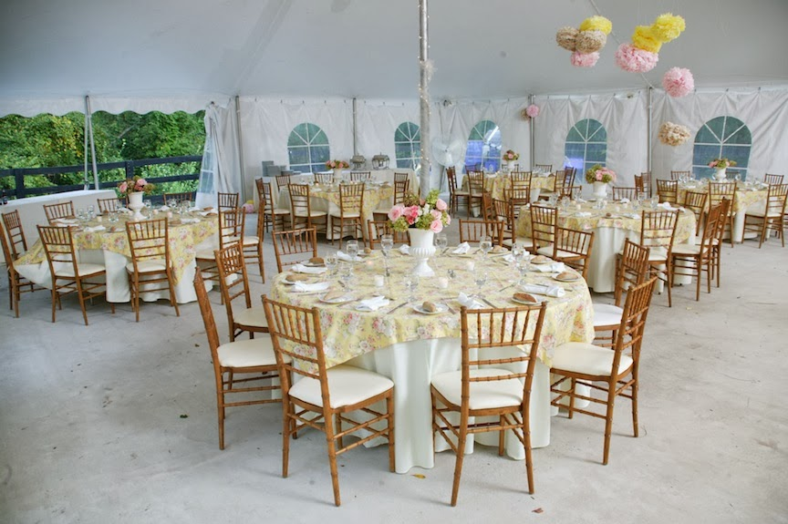 Rust Manor Wedding Reception Room Photo