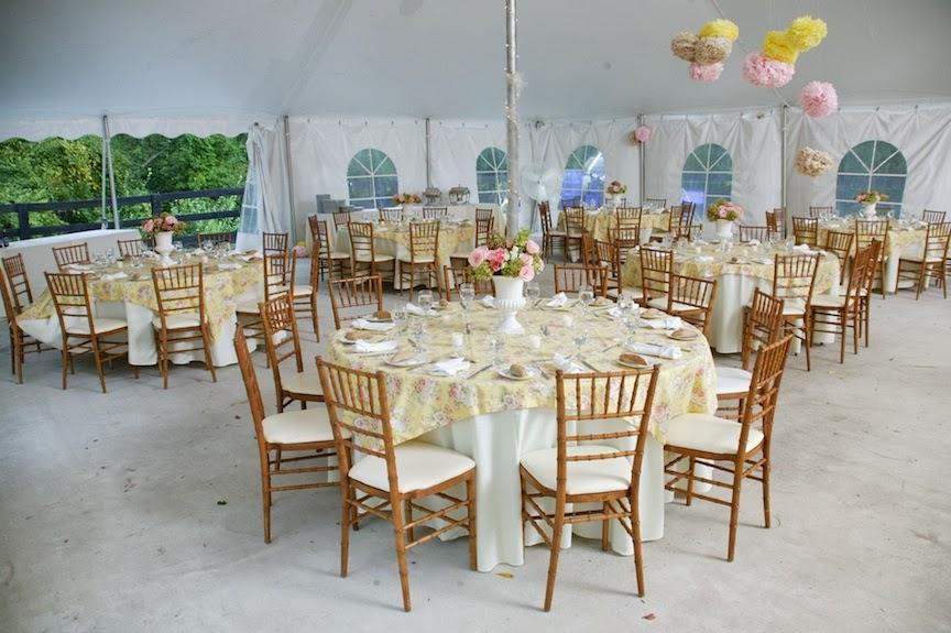Rust Manor Wedding Reception Room Photo