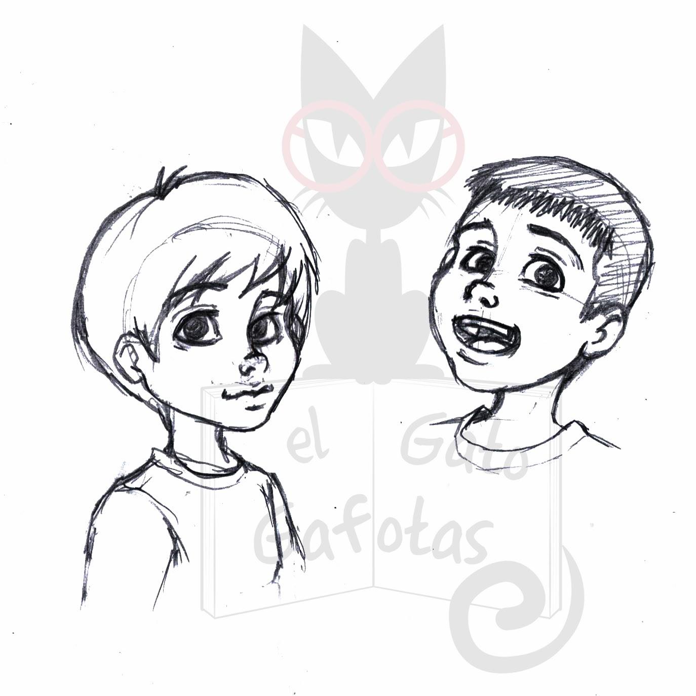 Excepcional Bocetos Para Niños Colección de Imágenes - Dibujos de ...