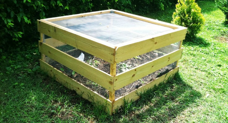 how to build a cheap composite bins