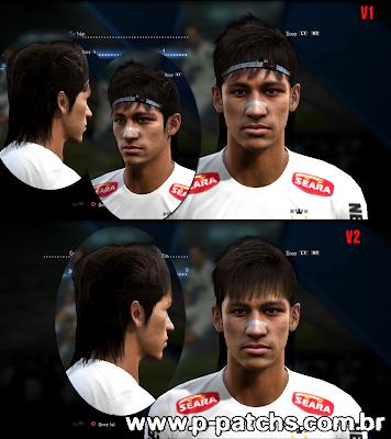 Neymar Face - PES 2013