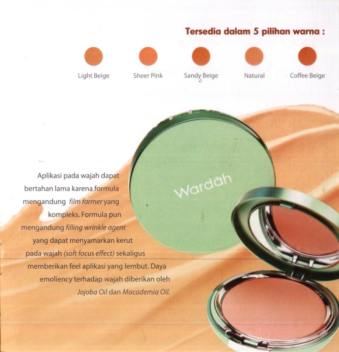 Wardah Kosmetik Exclusive Liquid Foundation 05 Coffee Beige Creamy New