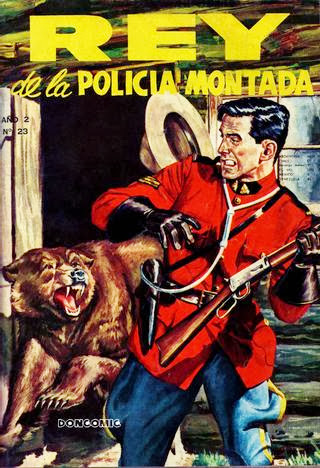 REY DE LA POLICIA MONTADA - ESPANHOL