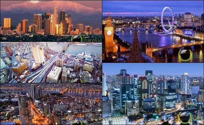 7 Negara dengan Kota yang paling Terkaya di Dunia