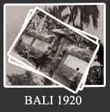Foto Bali Tahun 1920 - 1929