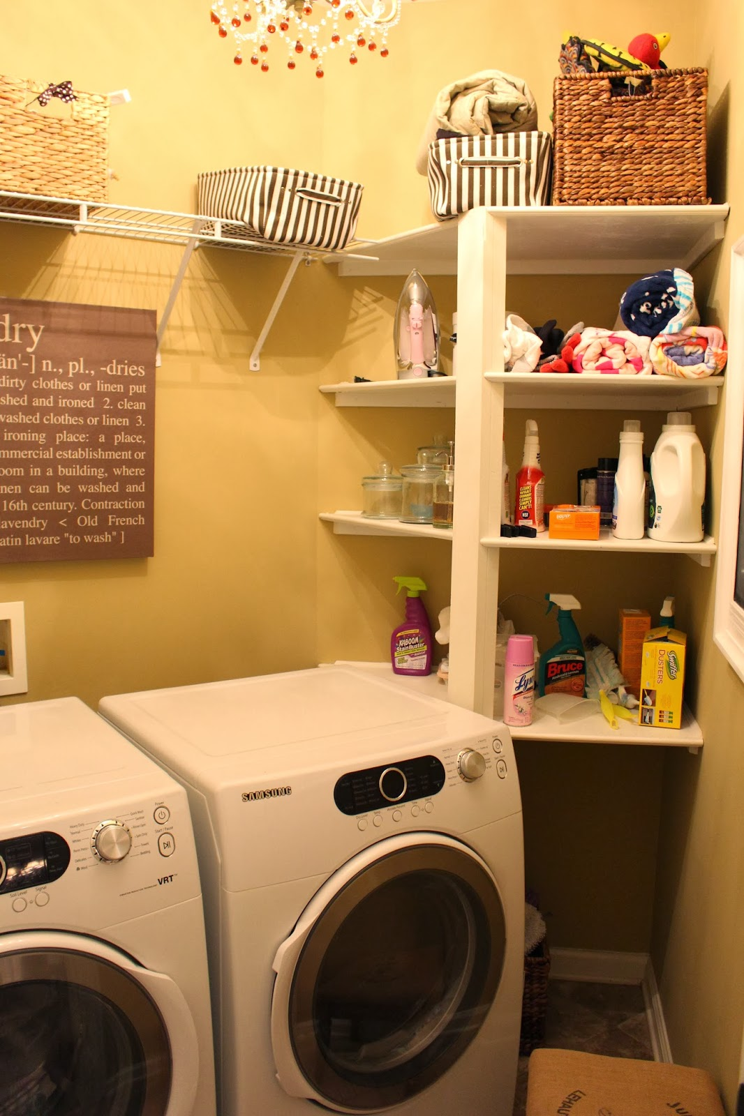 tiffanyd laundry room makeover organization tips