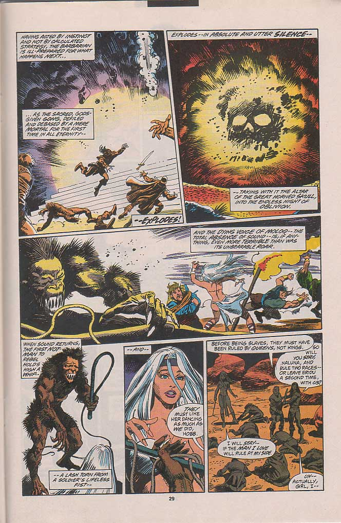 Conan the Barbarian (1970) Issue #263 #275 - English 21
