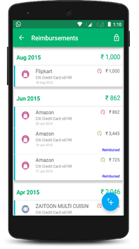 Money View, finance based Android app introduces a new feature called 'Reimbursements'