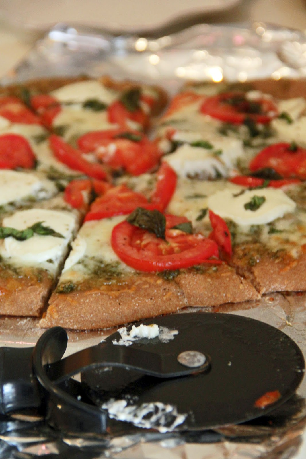 Mr. and Mrs. Pear: Homemade tomato, basil, and goat cheese ...