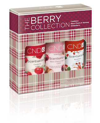 CND, CND Scentsations, CND Scentsations The Berry Collection, lotion, hand lotion, giveaway, beauty giveaway, 12 days of beauty giveaways
