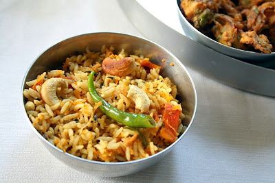 Methi Carrot Pulao