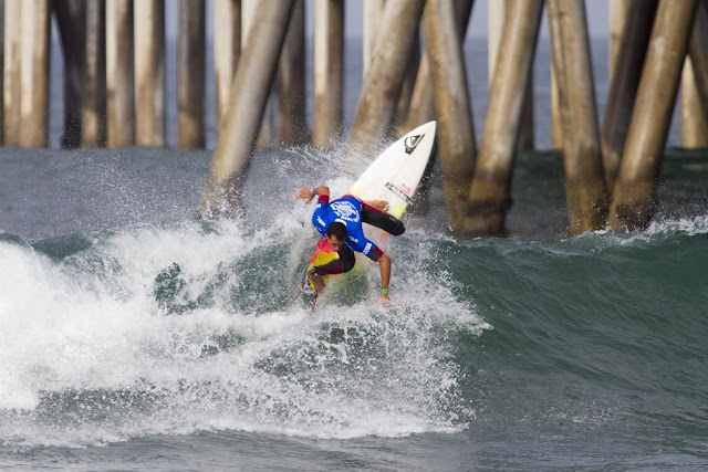 18 Maxime Huscenot FRA Mens Vans US Open of Surfing WSL Sean Rowland