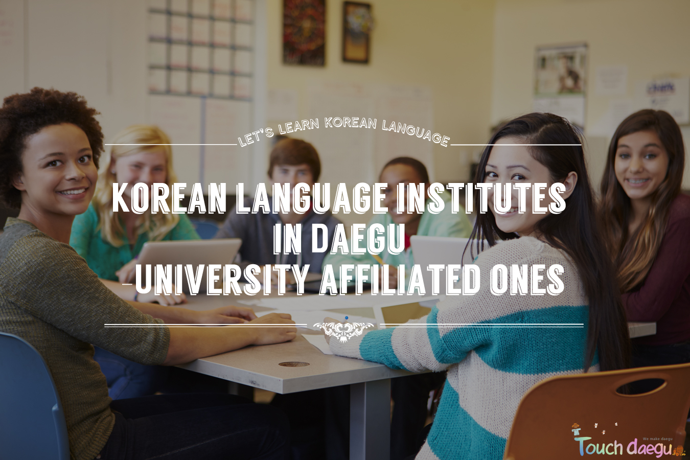 Korean language institutes in Daegu -University affiliated ones