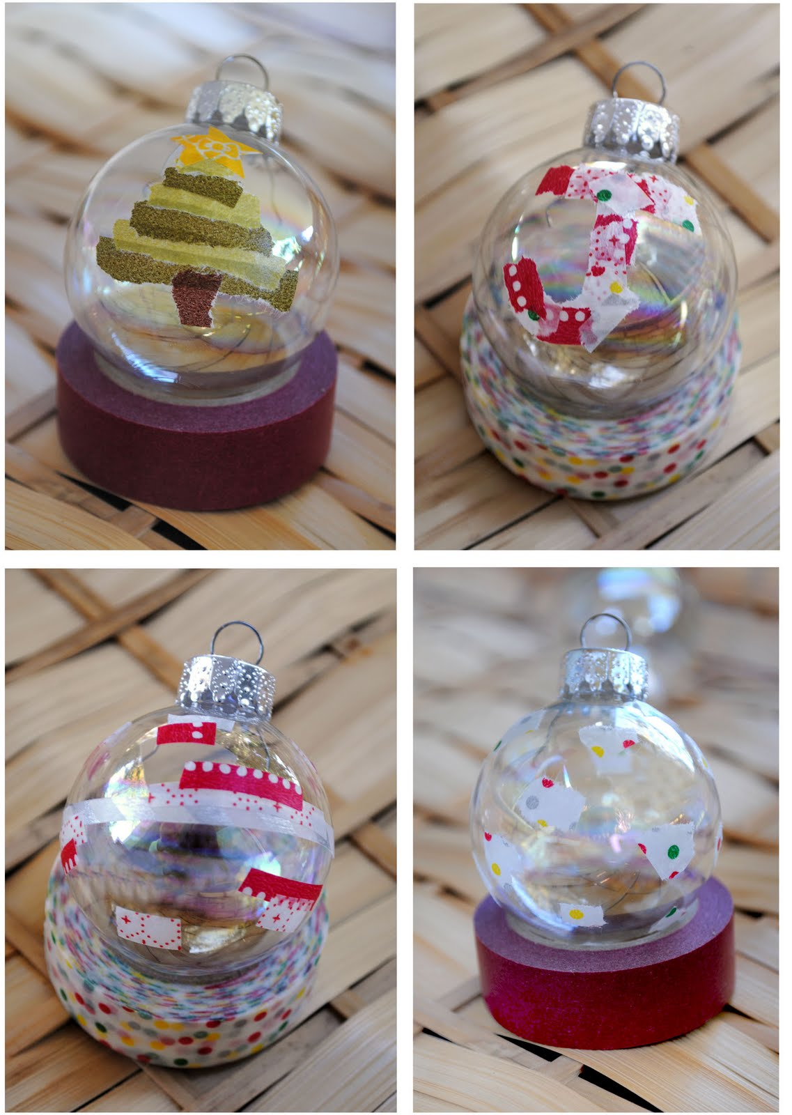 zakka life craft washi tape ornaments