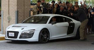 One of the Audi's used in Iron Man 3