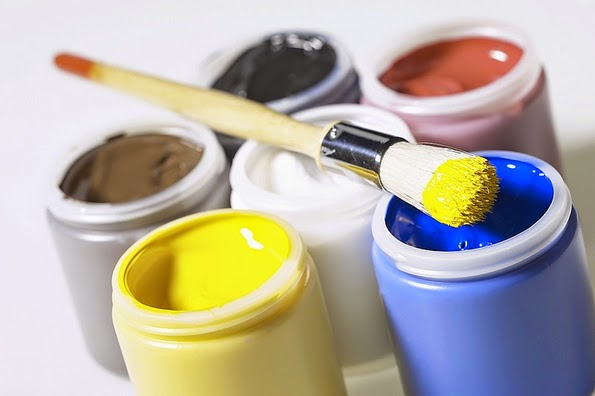 Distintos colores para pintar