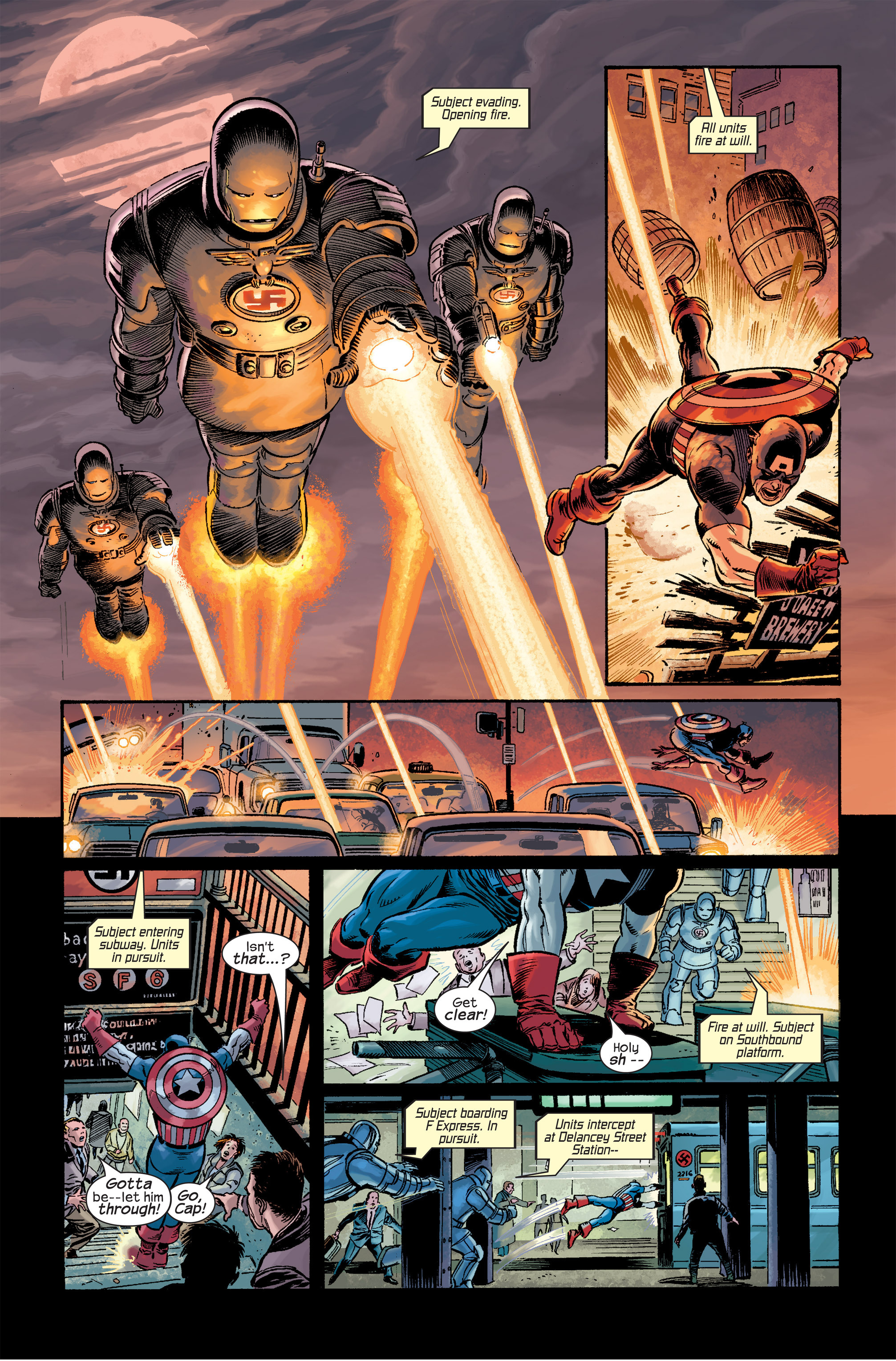 Captain America (2002) Issue #18 #19 - English 9