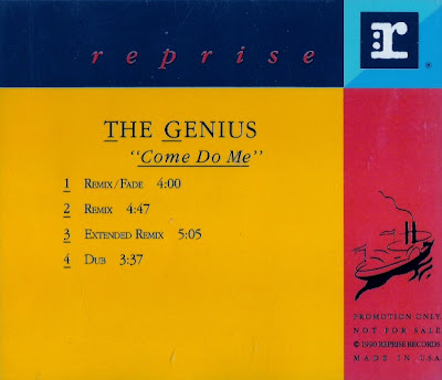 The Genius – Come Do Me (CDS Promo) (1991) (192 kbps)