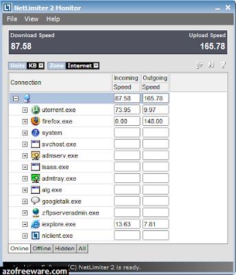 NetLimiter 3 Monitor