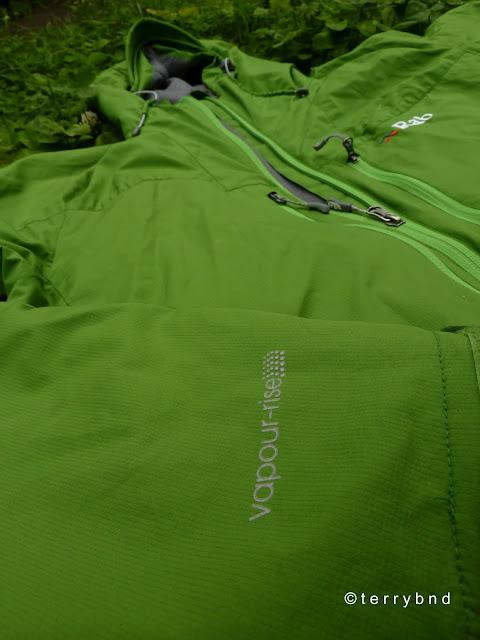 Rab Vapour-Rise Lite Alpine jacket 2012