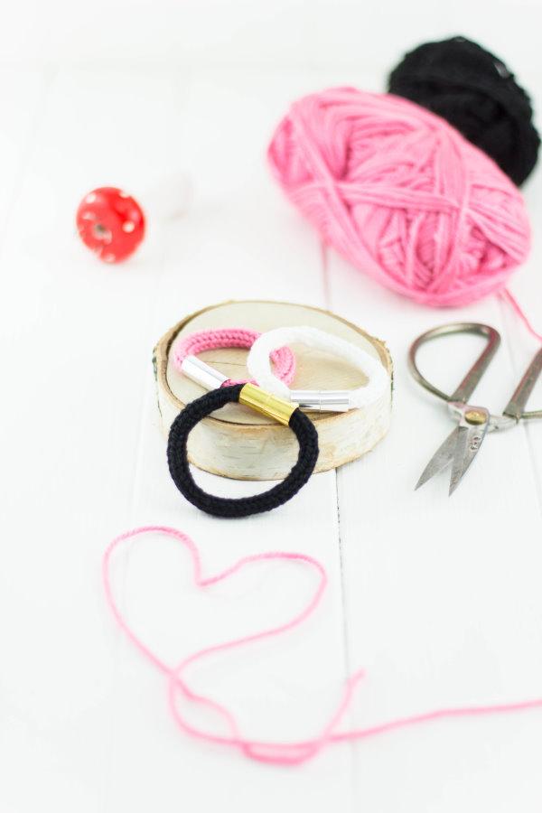 DIY Armbänder mit der Strickliesel