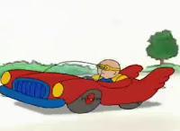 Caillou Araba Kullanıyor izle