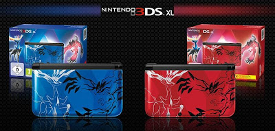 3DS XL edición especial Pokemon X Pokemon Y