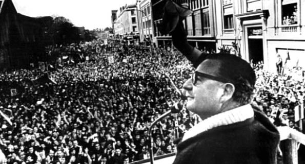 En las elecciones presidenciales de 1970 confluían las fuerzas y movimientos políticos que venían desarrollándose en Chile por varias décadas.