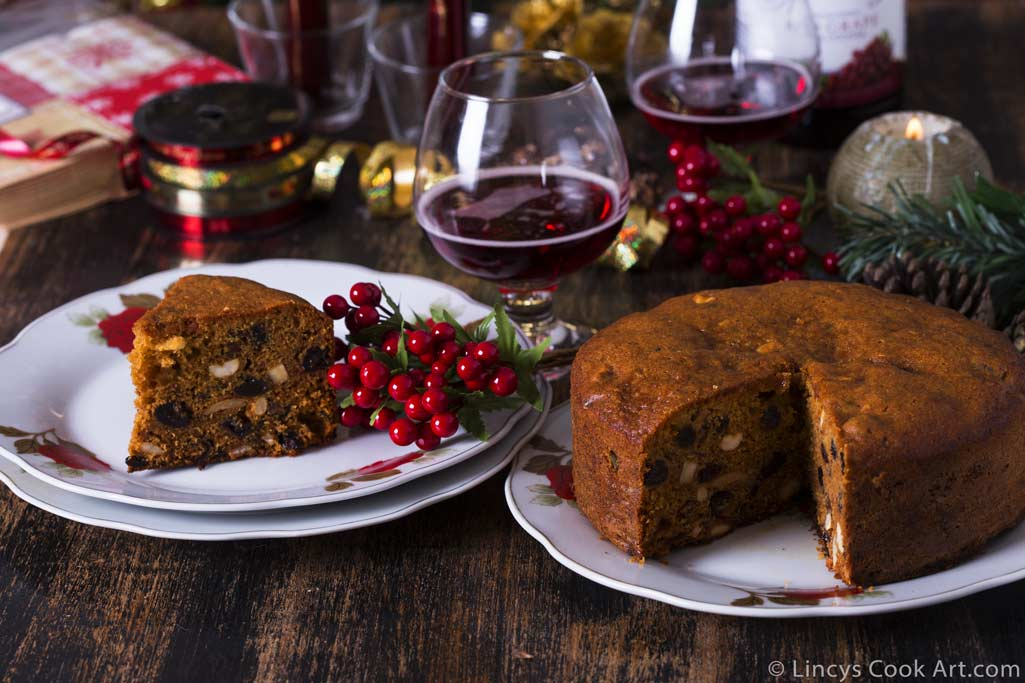 Christmas Cake recipe without alcohol
