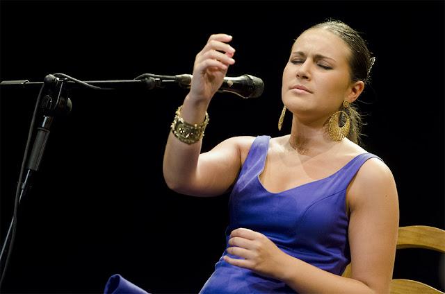 Celia Romero - Festival del Cante de las Minas - Catedral del Cante (La Unión) - 1/8/2012