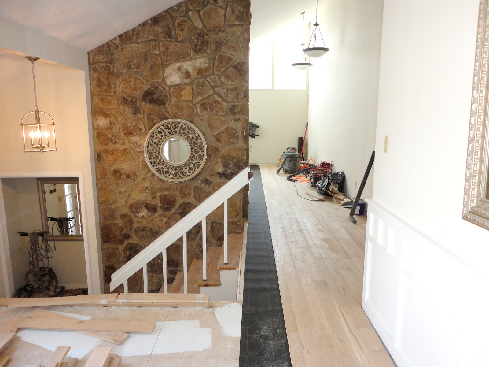 LiveLoveDIY: Our 1970's House Makeover Part Two: Knocking Down Walls