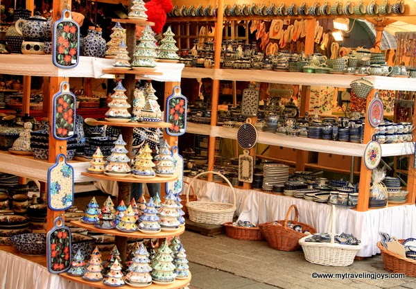 Polish Pottery Christmas Ornaments