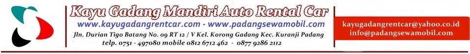 Rental Mobil Padang, Sewa Mobil di Padang. Paket Tour Wisata Padang Minangkabau, Sumatera Barat