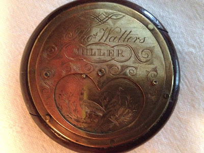 Snuff Box Engraved Thomas Watters, Miller