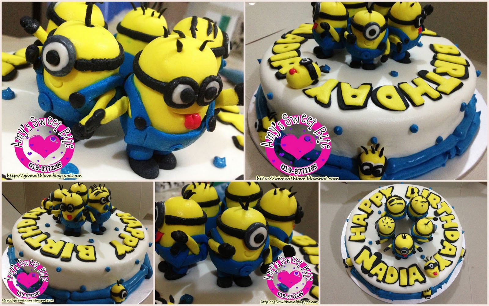 Birthday Cake Images Minions ~ Amy s sweet bite birthday cake despicable me minions cake